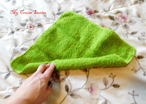 towel squid folding instructions
