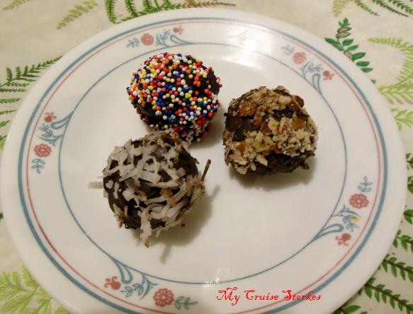 truffles, yum
