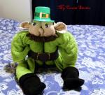 how to fold a towel leprechaun