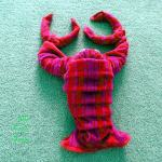 how to fold a towel lobster