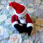 Christmas towel foldig