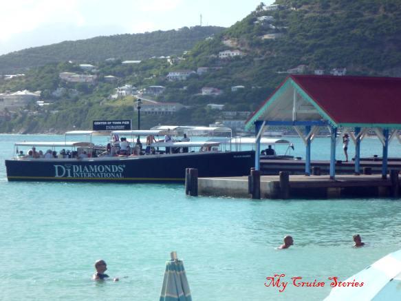 Saint Martin water taxi