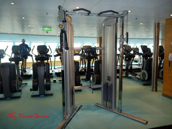 cruise ship gym - where to work off all that great food