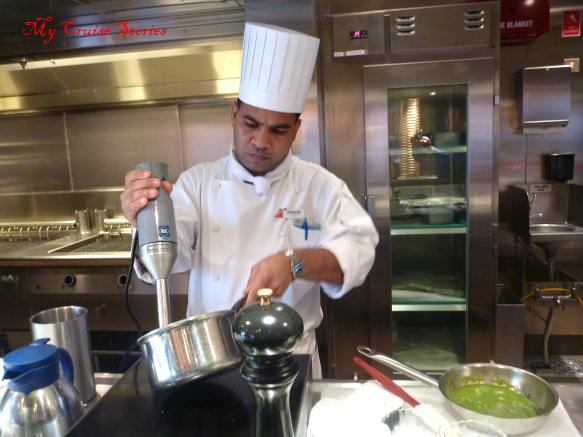 cooking on Carnival Breeze