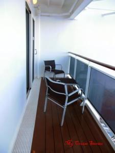 double size cruise ship veranda