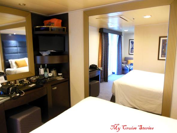 special cruise ship cabins