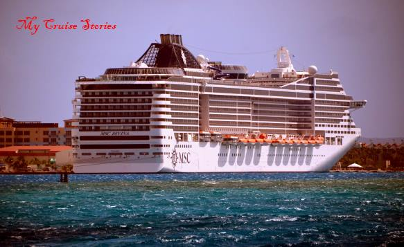 MSC cruise line's only ship cruising full time in the Caribbean