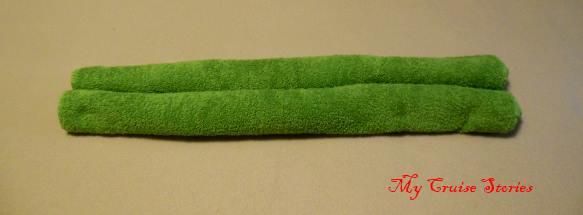 making a towel leprechaun