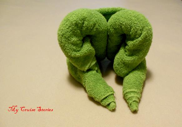 how to fold towel creations