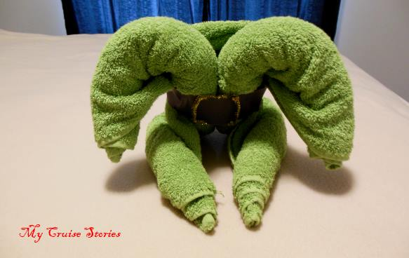 decorations transform towels into all sorts of different creatures