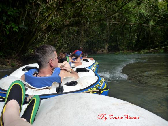 river tubing in Jamaica
