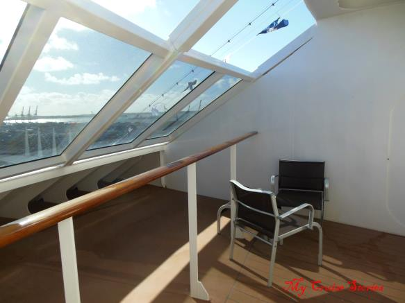 cruise ship suite verandah