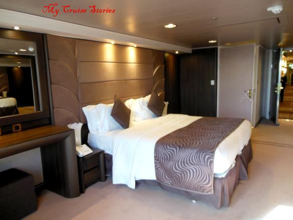 Disabled accissible rooms on the Divina have the most space