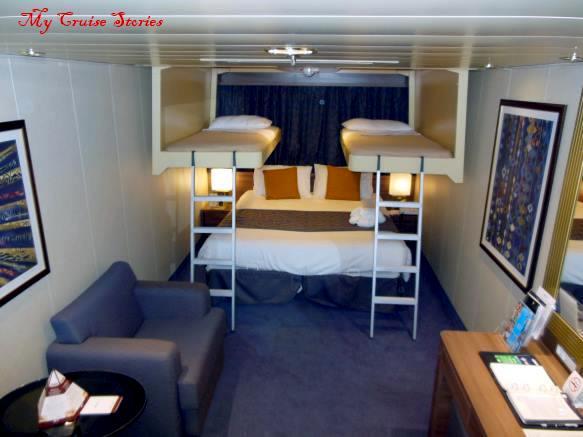 Disney Wonder Cabin 1045 - Category 10C - Deluxe Inside ...