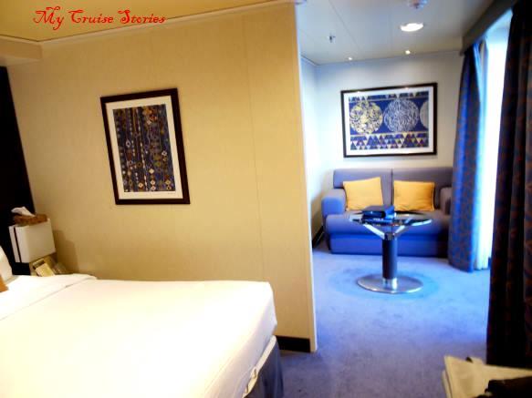 surprisingly nice cruise ship cabin