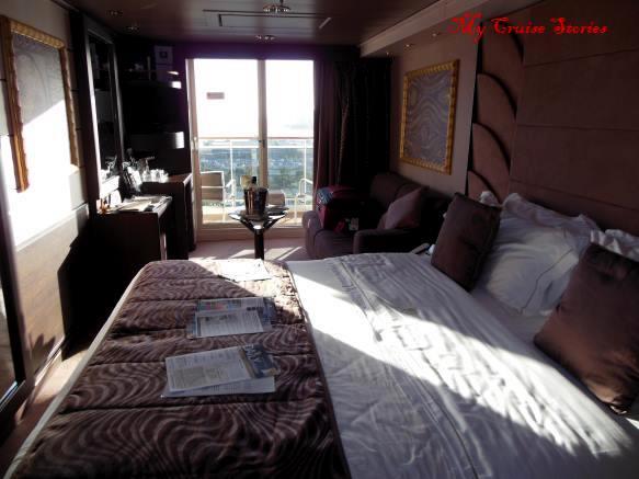 MSC Divina suite