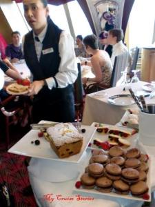 one of Carnival's best kept secrets - afternoon tea