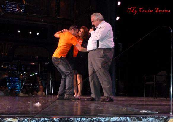 Carnival's most popular cruise director