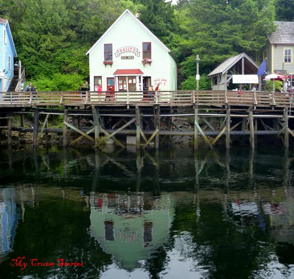 the dock at Creek Street