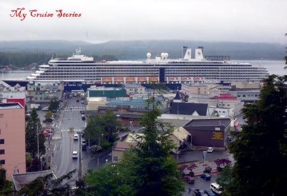 Westerdam in Ketchikan