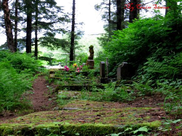 old Russian graveyard