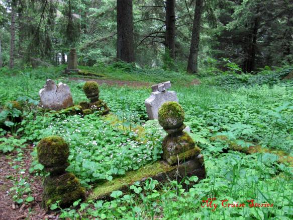 old Russian graveyard