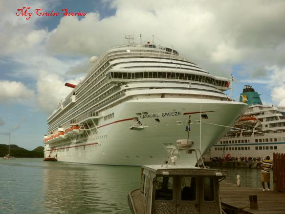 cruise ship at the dock