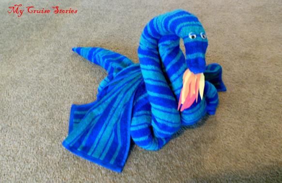 big towel dragon
