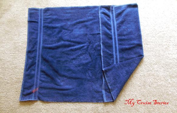towel animal folding directions