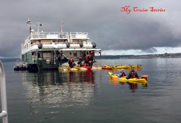 kayaking in the San Juans