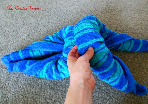 nothing standard about this towel animal body now