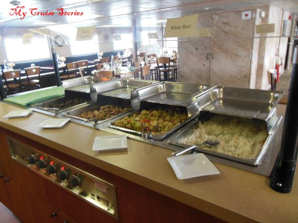 cruise ship buffet