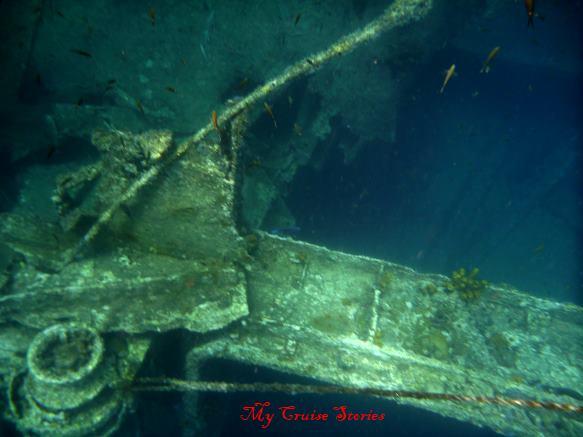 Antilla shipwreck in Aruba