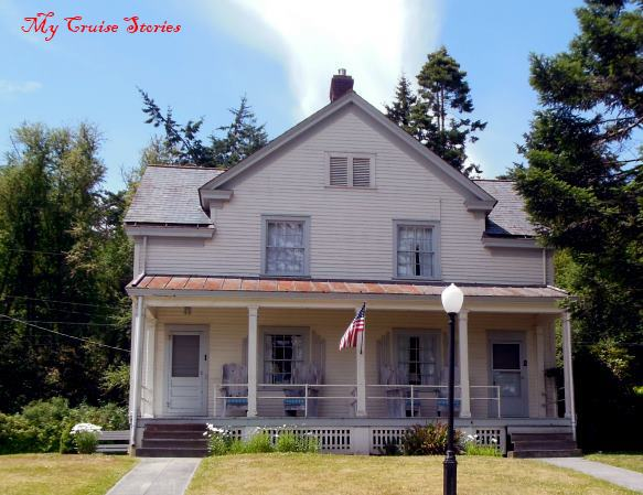 historic house, former officer's quarters