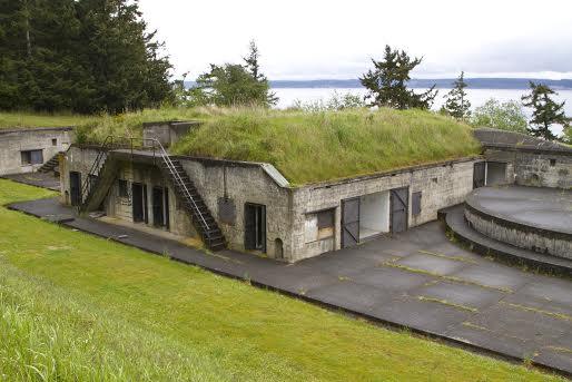 Fort Flagler on Marrowstone Island