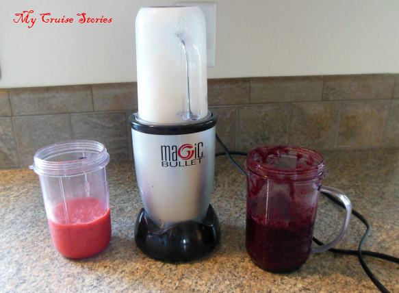 how to make a frozen fruit smoothie