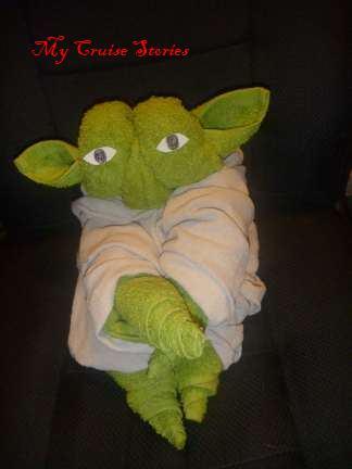 towel Yoda