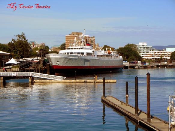 MV Coho from Black Ball Ferry Line