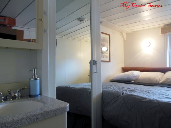 cabins on small cruise ship