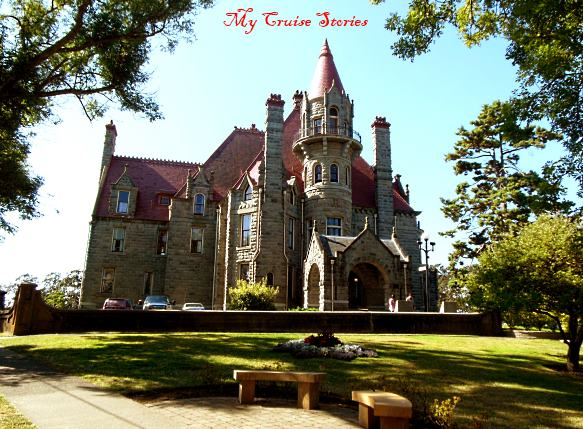 castle on Vancouver Island