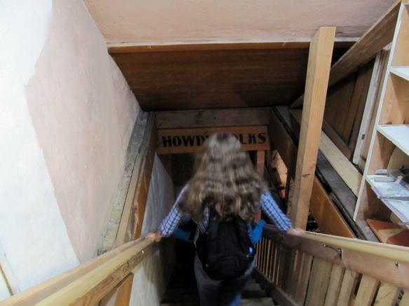 stairway to the underground