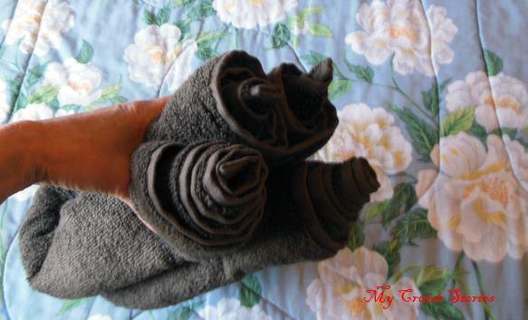towel animal folding instructions