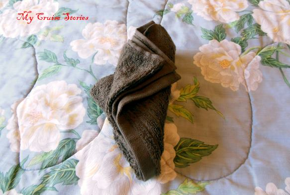 origami towel folding