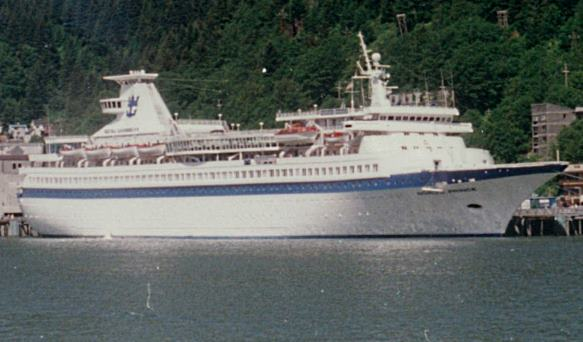 old cruise ship
