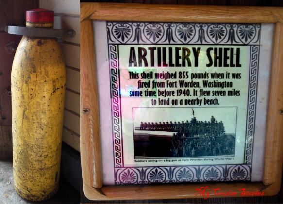 fired artillery shell