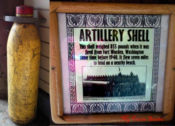 fired artillery shell
