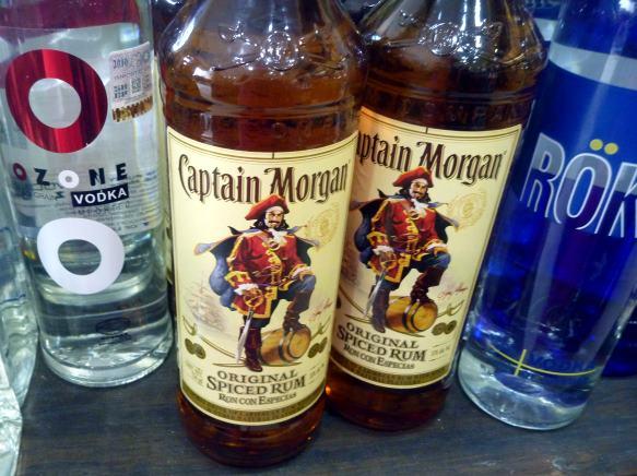 pirates love their rum