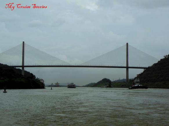 bridge over Panama Canal
