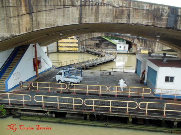 Pedro Miguel Locks, Panama Canal