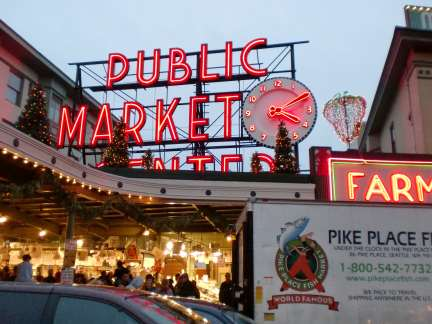 Seattle's historic public market